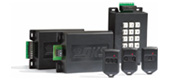 Commercial Transmitters combine RF and card access controls