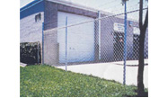 Galvanized Fence for commercial / industrial facilites in Boston, MA
