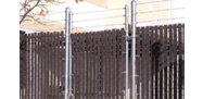 Fence Slats provide privacy and good looks for facilities in and around Boston, MA