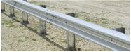 Commercial Guardrail absorbs energy and keeps property and employees safe