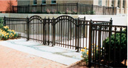 Ornamental Fences & Gates add beauty & security to your commercial facility in Boston, MA