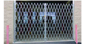 Steel Folding Gates provide protection and circulation for your commercial or industrial space
