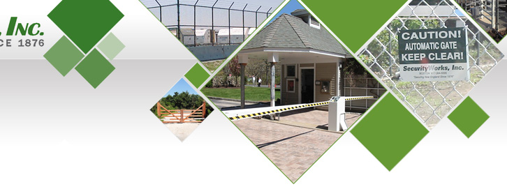 Fence, gate and access control from Security Works, Inc in Boston