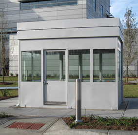 Guard booths, mezzanines and shelters protect your Boston MA parking garage staff