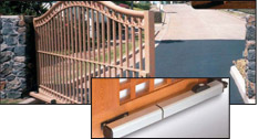 Swing Gate Systems do not have pinch points and operate during emergencies